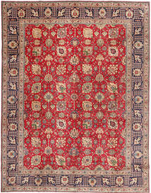 Tabriz Rug 309X388 Authentic  Oriental Handknotted Light Brown/Dark Red Large (Wool, Persia/Iran)