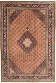 Ardebil Matto 194X288 Itämainen Käsinsolmittu Ruskea/Vaaleanruskea (Villa, Persia/Iran)