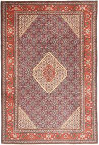 Ardabil Tapis 196X291 D'orient Fait Main Marron/Marron Clair (Laine, Perse/Iran)