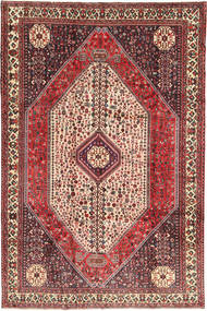 Abadeh Rug 195X298 Authentic  Oriental Handknotted Brown/Dark Brown (Wool, Persia/Iran)