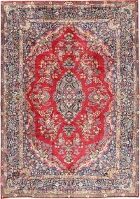 Yazd Rug 250X350 Authentic  Oriental Handknotted Light Grey/Light Brown Large (Wool, Persia/Iran)