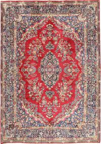 Yazd Tappeto 250X350 Orientale Fatto A Mano Grigio Chiaro/Marrone Chiaro Grandi (Lana, Persia/Iran)
