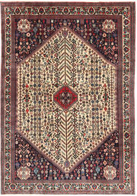Abadeh Rug 203X298 Authentic  Oriental Handknotted Black/Dark Blue (Wool, Persia/Iran)