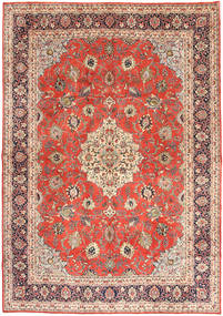 Mahal Rug 270X380 Authentic Oriental Handknotted Rust Red/Light Brown Large (Wool, Persia/Iran)