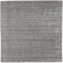 Handloom Gabba - Grau Teppich 200X200 Moderner Quadratisch Hellgrau/Dunkelgrau (Wolle, Indien)