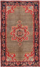 Koliai Matta 145X250 Äkta Orientalisk Handknuten Mörkröd/Mörkbrun (Ull, Persien/Iran)