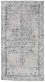 Colored Vintage Rug 106X199 Authentic  Modern Handknotted Light Grey (Wool, Turkey)