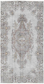 Colored Vintage Rug 111X212 Authentic  Modern Handknotted Light Grey (Wool, Turkey)