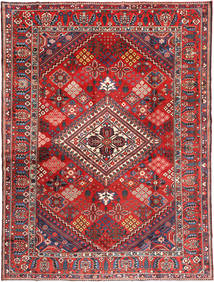 Bakhtiari Rug 290X380 Authentic  Oriental Handknotted Rust Red/Dark Grey Large (Wool, Persia/Iran)