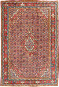 Ardebil Rug 194X295 Authentic  Oriental Handknotted Brown/Dark Grey (Wool, Persia/Iran)