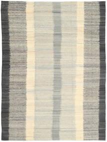 キリム モダン 絨毯 210X285 モダン 手織り 薄い灰色/暗めのベージュ色の (ウール, インド)