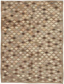 Kelim Afghan Old Style Matta 173X231 Äkta Orientalisk Handvävd Ljusbrun/Brun (Ull, Afghanistan)