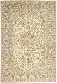 Keshan Matto 247X357 Itämainen Käsinsolmittu Beige/Vaaleanruskea (Villa, Persia/Iran)
