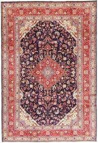 Hamadan#shahrbaf Matta 220X320 Äkta Orientalisk Handknuten Mörklila/Lila (Ull, Persien/Iran)