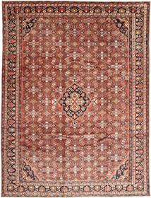 Hosseinabad Covor 270X360 Orientale Lucrat Manual Roșu-Închis/Maro Deschis Mare (Lână, Persia/Iran)