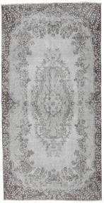 カラード ヴィンテージ 絨毯 112X221 モダン 手織り 薄い灰色/濃いグレー (ウール, トルコ)