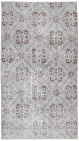 Colored Vintage Rug 112X201 Authentic  Modern Handknotted Light Grey (Wool, Turkey)
