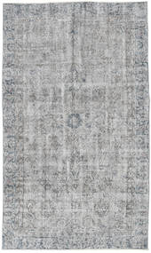 Colored Vintage Rug 131X218 Authentic  Modern Handknotted Light Grey (Wool, Turkey)