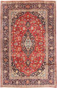 Keshan Rug 192X310 Authentic  Oriental Handknotted Dark Purple/Brown (Wool, Persia/Iran)