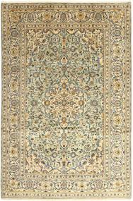 Keshan Matta 242X366 Äkta Orientalisk Handknuten Mörkbeige/Mörkgrå (Ull, Persien/Iran)