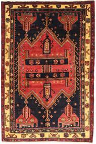 Koliai Matto 140X210 Itämainen Käsinsolmittu Tummanvihreä/Tummanpunainen (Villa, Persia/Iran)