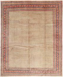 Sarouk Mir Rug 305X375 Authentic  Oriental Handknotted Brown/Light Brown Large (Wool, Persia/Iran)