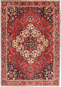 Bakhtiari Rug 210X298 Authentic  Oriental Handknotted Rust Red/Dark Brown (Wool, Persia/Iran)