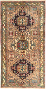 Ardebil Rug 150X292 Authentic  Oriental Handknotted Hallway Runner  Brown/Light Brown (Wool, Persia/Iran)