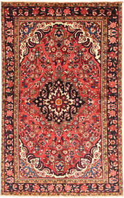 Hamadan Matto 148X248 Itämainen Käsinsolmittu Tummanpunainen (Villa, Persia/Iran)