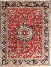 Tabriz Rug 292X393 Authentic  Oriental Handknotted Light Brown/Dark Red Large (Wool, Persia/Iran)
