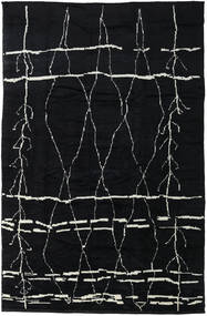Handknotted Berber Shaggy Rug 271X416 Authentic  Modern Handknotted Dark Grey Large (Wool, Turkey)
