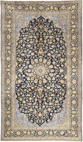 Keshan Matto 288X500 Itämainen Käsinsolmittu Vaaleanharmaa/Tummansininen Isot (Villa, Persia/Iran)