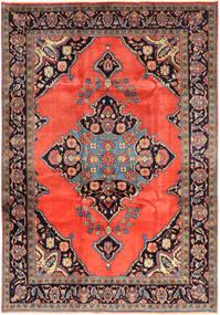Nahavand Teppe 225X324 Ekte Orientalsk Håndknyttet Orange/Lysbrun (Ull, Persia/Iran)