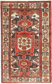 Zanjan Matto 117X190 Itämainen Käsinsolmittu Ruoste/Tummanruskea (Villa, Persia/Iran)