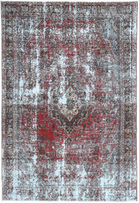Colored Vintage Rug 200X300 Authentic  Modern Handknotted Light Grey/Light Purple (Wool, Persia/Iran)
