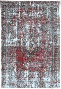 Colored Vintage Teppich  200X300 Echter Moderner Handgeknüpfter Helllila/Hellgrau (Wolle, Persien/Iran)