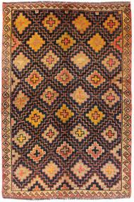 Lori Tappeto 130X183 Orientale Fatto A Mano Nero/Marrone Chiaro (Lana, Persia/Iran)