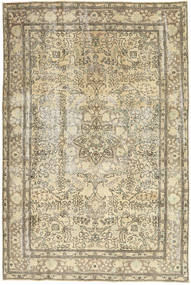 Colored Vintage Teppe 192X290 Ekte Moderne Håndknyttet Mørk Beige/Lysbrun (Ull, Persia/Iran)