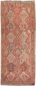 Kelim Fars Vloerkleed 143X340 Echt Oosters Handgeweven Tapijtloper Bruin/Lichtbruin/Donkerbeige (Wol, Perzië/Iran)