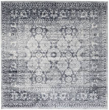 Pasha - Dark Blue/Grey Rug 250X250 Modern Square Light Grey/Dark Grey Large ( Turkey)
