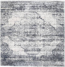 Mistral - Light Grey Rug 250X250 Modern Square Light Grey/White/Creme Large ( Turkey)
