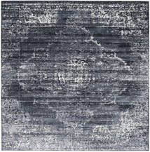 Mistral - Dark Grey Rug 250X250 Modern Square Dark Grey/Light Grey Large ( Turkey)