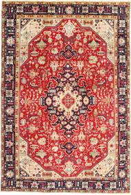 Tabriz Rug 200X300 Authentic  Oriental Handknotted Rust Red/Dark Brown (Wool, Persia/Iran)