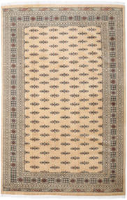Pakistan Bokhara 3Ply Matto 205X310 Itämainen Käsinsolmittu Vaaleanruskea/Tummanbeige (Villa, Pakistan)