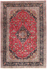 Kashmar Rug 195X288 Authentic  Oriental Handknotted Purple/Light Brown (Wool, Persia/Iran)