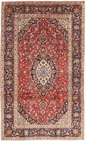 Keshan Koberec 192X315 Orientální Ručně Tkaný Hnědá/Tmavě Fialová (Vlna, Persie/Írán)
