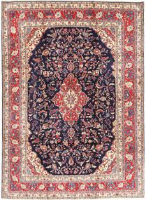 Hamadan#shahrbaf Rug 222X305 Authentic  Oriental Handknotted Dark Purple/Light Purple (Wool, Persia/Iran)