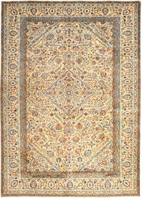 Keshan Rug 296X410 Authentic  Oriental Handknotted Beige/Dark Beige Large (Wool, Persia/Iran)