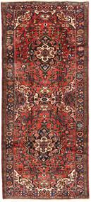 Hamadan Teppich  117X278 Echter Orientalischer Handgeknüpfter Läufer Dunkelrot/Dunkelbraun (Wolle, Persien/Iran)