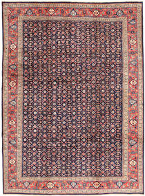 Arak Rug 232X322 Authentic  Oriental Handknotted Dark Purple/Light Purple (Wool, Persia/Iran)